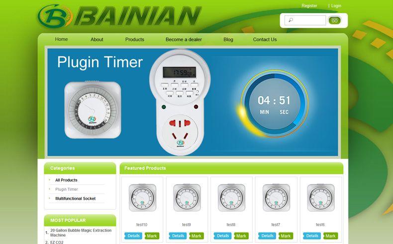 米乐官网app电器公司网站制作案例