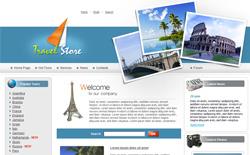 旅游企业网站模板001